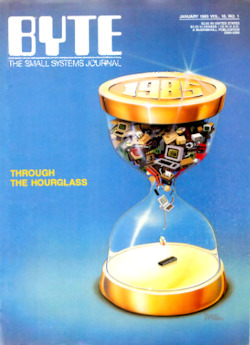 byte-magazine Through the Hourglass (alt. Scan)