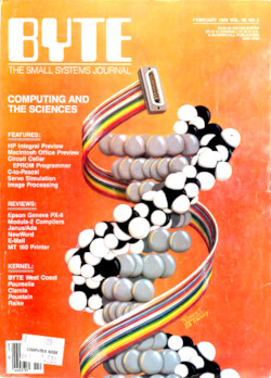 byte-magazine Computing and the Sciences