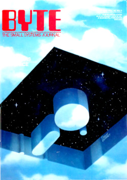 byte-magazine Computers and Space