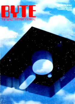 byte-magazine Computers and Space (alt. Scan I)