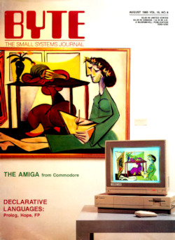 byte-magazine Declarative Languages and the Amiga (alt. Scan)