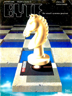 byte-magazine Chess for the Microcomputer