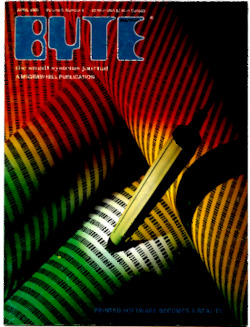 byte-magazine Printed Software Becomes a Reality