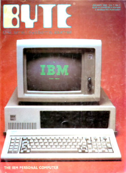 byte-magazine The IBM Personal Computer