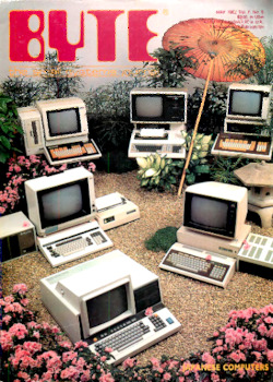byte-magazine Japanese Computers