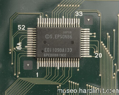 Epson PC Portable chipset