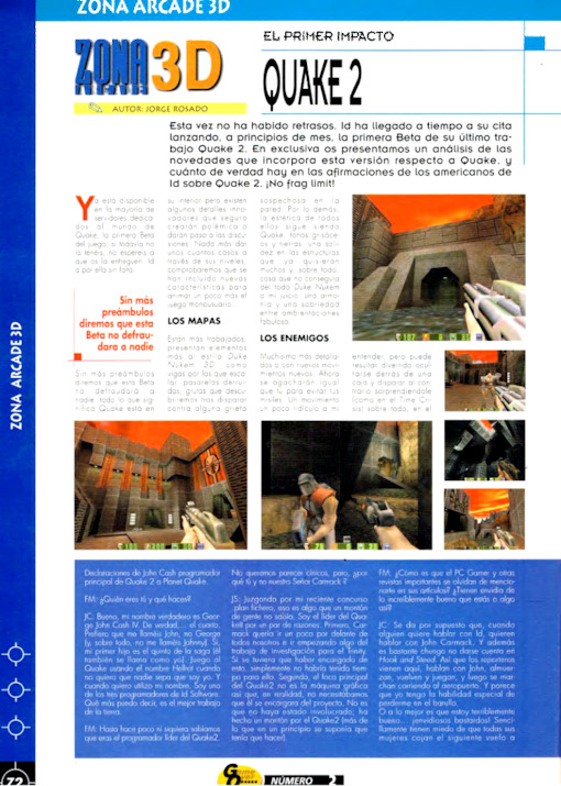 Game Over Año 1 · Nº 2 March 1998