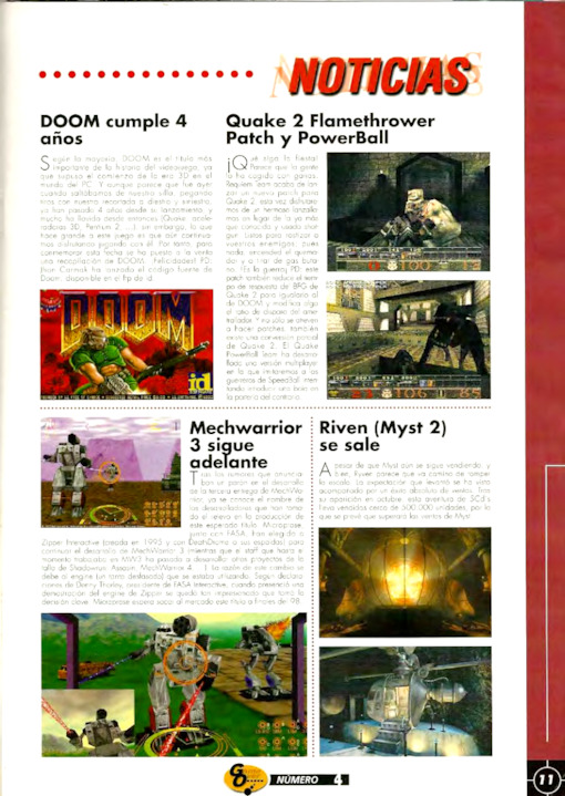 Game Over Año 1 · Nº 3 May 1998