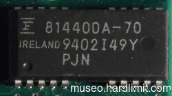 FPM memory IC with 1M words of 4 bits