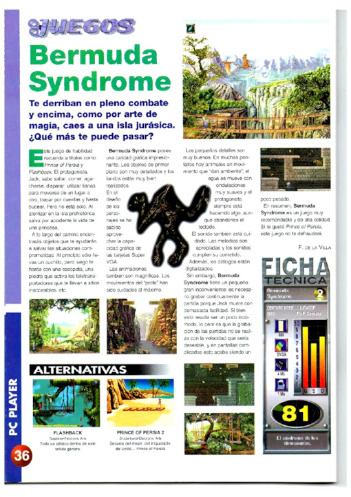 PC Player Año II · N.º 10 April 1996
