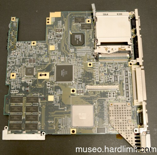 230CX's motherboard (reverse)